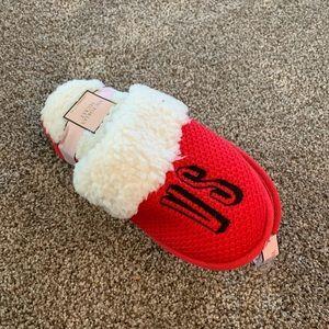 Victoria Secret Red Slippers BNWT